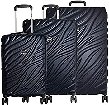 Delsey Alexis Expandable Lightweight 3-Piece Luggage Set