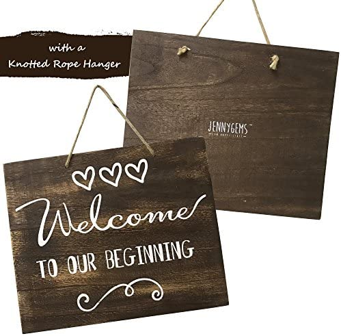 Welcome Baby Shower Sign Banner Burlap Rustic Western Country Primitive New