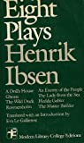 Eight Plays, Henrik Ibsen and Eva Le Gallienne, 0394328655