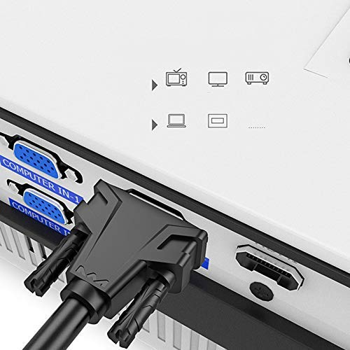 Vaugan Multifunci/ón 15 Pines Macho a Macho VGA Cable Alargador Cable de V/ídeo para Ordenador Proyector Monitor HDTV Pantalla