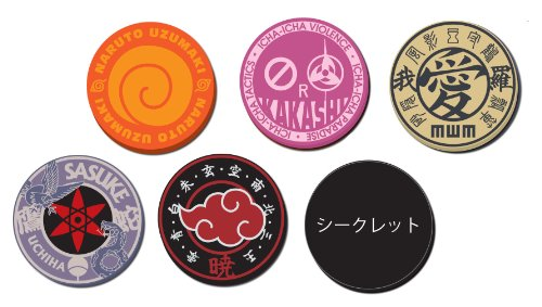 NARUTO Shippuden rubber coaster set of 6 all BOX (japan import) by naruto goods