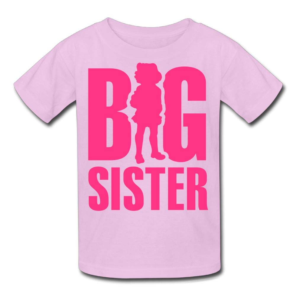 Moniery Short Sleeves Tee Big Sister 4 Youth Girl