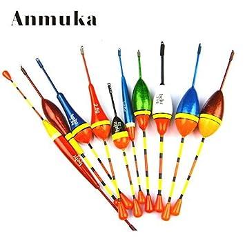 suveraan anmuka 20pcs Set de flotadores de pesca boya Bobber flotadores de pesca luz stick flutuador Mix Tamaño Color Agua Dulce Pesca: Amazon.es: Deportes ...
