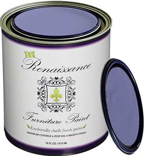 Renaissance Chalk Finish Paint - Queen's Wreath 1 Pint (16oz) - Chalk Furniture & Cabinet Paint - Non Toxic, Eco-Friendly, Superior ()
