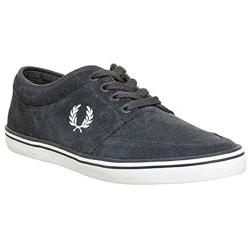 Fred Perry Stratford B1168 282 Grigio. Oxford Lace Shoes For Men grigio