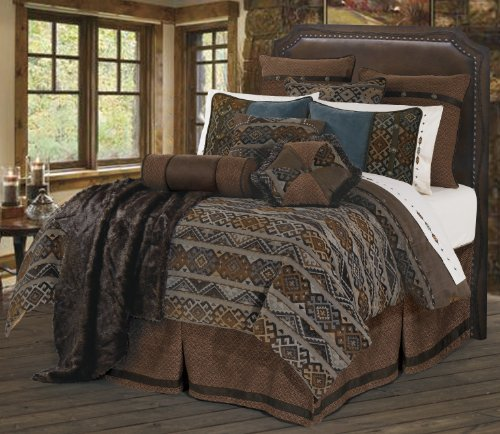 HiEnd Accents Rio Grande Western Duvet Cover Set, King