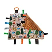 Lovey Security Baby Blanket Sensory Tag Toy Educational Forest Animals The Learning Lovey