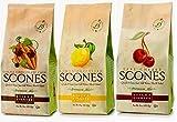 Sticky Fingers Premium All Natural Scone Mix Trio (Lemon Poppyseed, Chocolate Chip, Tart Cherry)