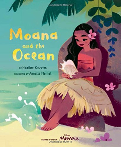 Book Cover: Moana and the Ocean