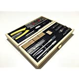 Model Expo Tool Set For Hobby & Craft - Designed for Wood and Metal Modeling.