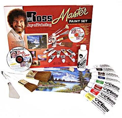 Bob Ross Master Paint Set 1 pcs sku# 1841343MA by BobRoss