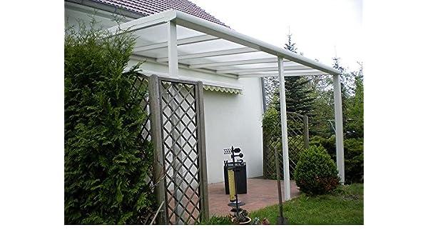 Aluminio prikker-überdachungen 700 x 400 cm ajuste de inclinación ...