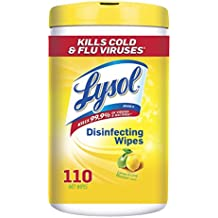 Lysol Disinfecting Wipes, Lemon & Lime Blossom, 110 Wipes