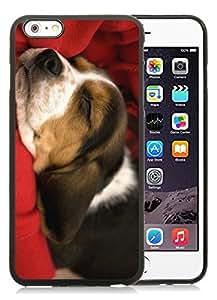 linJUN FENG2014 New Style iPhone 6 Plus Case,Christmas Dog Black iPhone 6 Plus 5.5 TPU Case 26