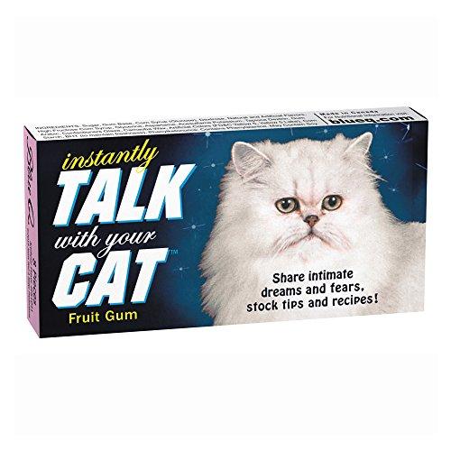Blue Q Gum Talk With Your Cat -