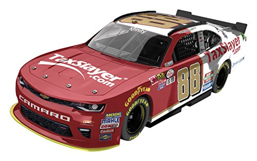 Lionel Racing Chase Elliott #88 Taxslayer 2016 Xfinity Chevrolet Camaro NASCAR Diecast Car (1:24 Scale), (Chrome Diecast Car)