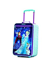 American Tourister Disney Girls Softside Upright 18-Inch, Frozen, International Carry-On