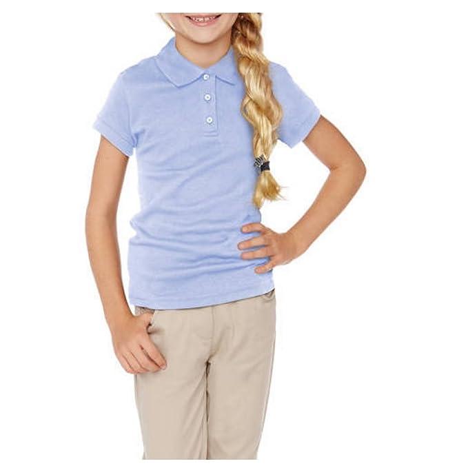 73c413d12d George Girls School Uniforms Short Sleeve Polo Shirt (XX-Large (18 ...