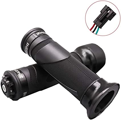 Electric Bicycle Throttle Hand Grip Ebike Scooter Handlebar Lock Function New