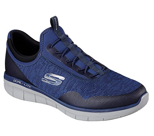 Skechers Mens Synergy 2.0 - Turris, Atletisch, Marine / Blauw, Us M Marine, Blauw