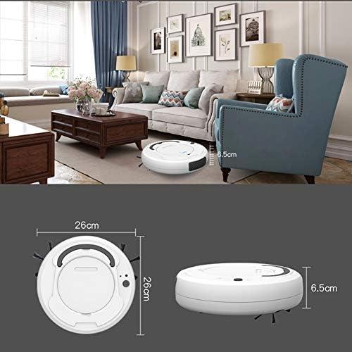 Byuru Robot Intelligent Robot Balayer Lazy Clean Home Appliances Aspirateur Route Planification Calme Conception empêchant la Chute Anti-Collision Edge Design Nettoyage (款式 : B)