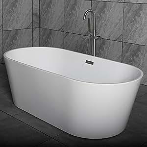 Woodbridge 59 Quot Acrylic Freestanding Bathtub Contemporary