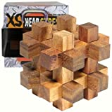 Family Games XS Head Stress Series Timber Box IQ Collection Puzzle