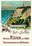Die Insel Rügen und Stralsund um 1900 - Postkartenbuch mit 30 Karten