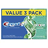 Crest Complete Whitening + Scope Toothpaste, Minty Fresh, Triple Pack (Packaging May Vary)