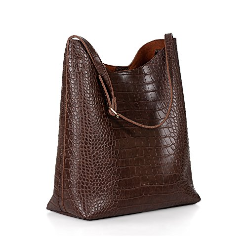 Crocodile Pattern Women Shoulder Handbags