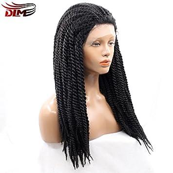 bons plans sur la mode le plus fiable dernière collection 2X sénégalais Twist tresses perruque afro synthétique ...