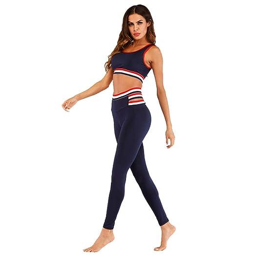 AFCITY Conjuntos de Ropa Deportiva para Mujer Juego de Yoga ...