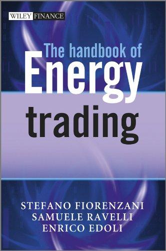 Energy trading strategies pdf