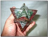 "Approx. 4"" Top Tip To Bottom Tip; 2.5"" Wide Fifth Element Orgone products are powerful Spiritual tools that can be used to enhance all areas of your life - physically, mentally, emotionally and spiritually. They can best be described as transmitters ..."