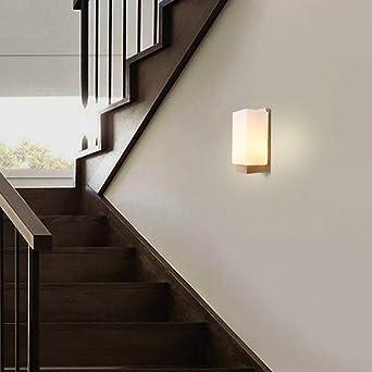 LED Wandleuchte Innen Wandlampe Klassisches Holz Design Wohnzimmer Schlafzimmer