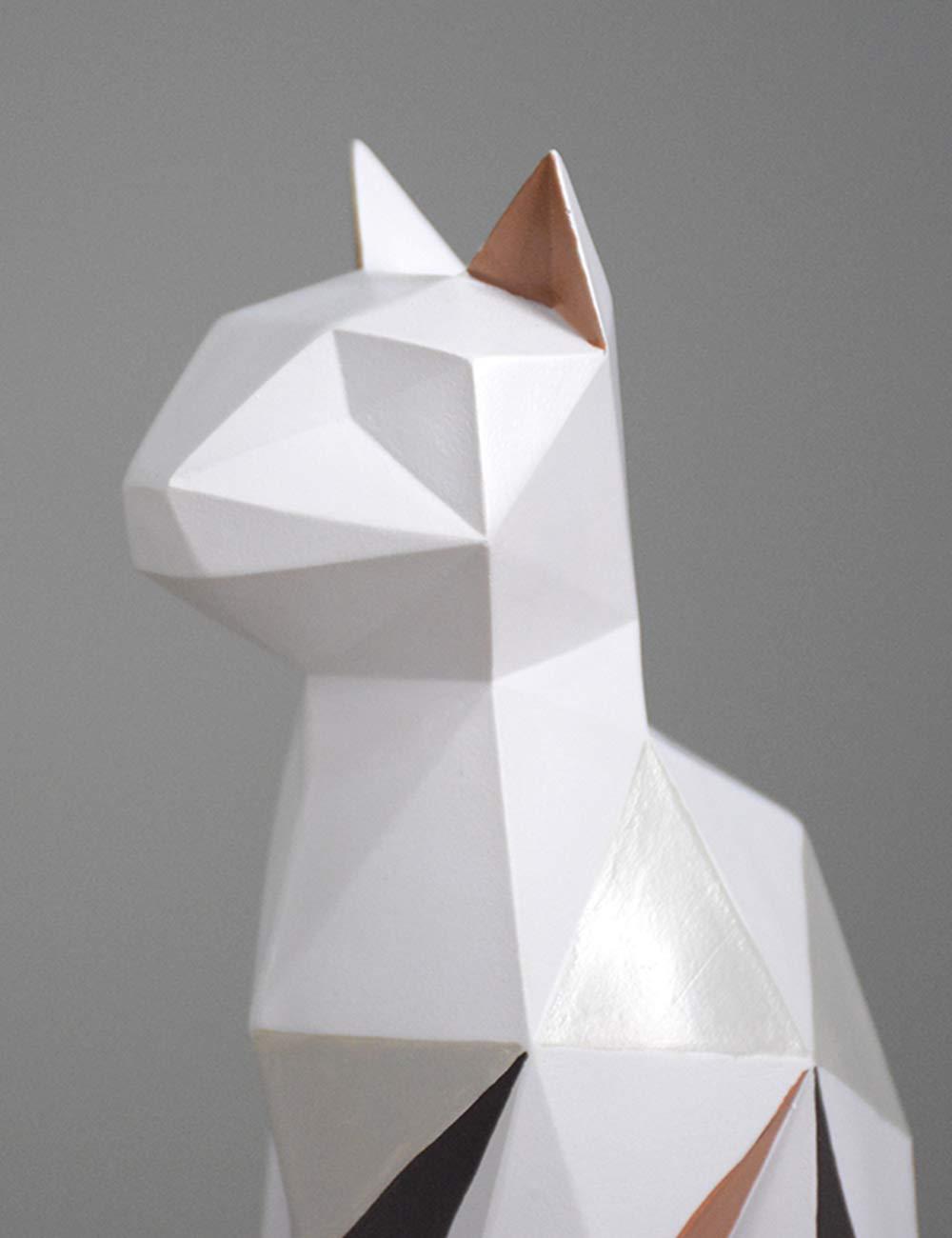 HomeBerry Cat Sculpture Figurine Statue Animal Home Decor Gift ...