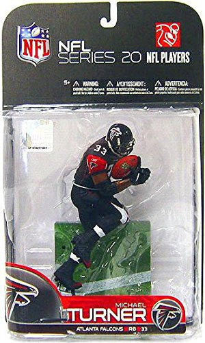 McFarlane Toys Atlanta Falcons Michael Turner Wave 1 Series 20 Action Figure (Series Falcons Fan Atlanta)