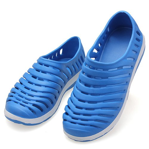 7641a2ba3 Mens Coloured Rainbow Beach Shoes Slippers Sandals  Amazon.co.uk  Shoes    Bags