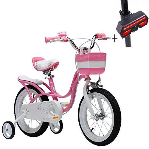 文明化リラックスしたブラウズ自転車、子供用自転車、14インチ高炭素鋼、塗料安全な非刺激性の,滑り止めタイヤ、ギフト自転車のターンシグナル