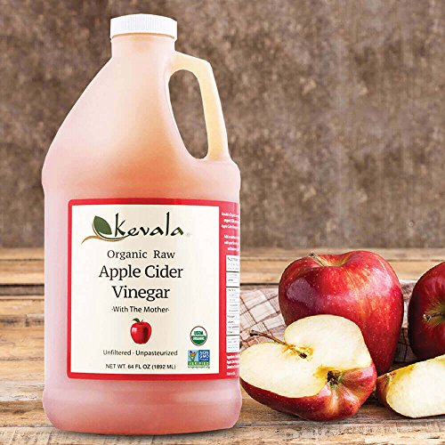 Kevala Organic Raw Apple Cider Vinegar, 64 Fluid Ounce 3