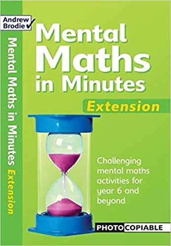 mental maths in minutes extentsion mental maths in minutes