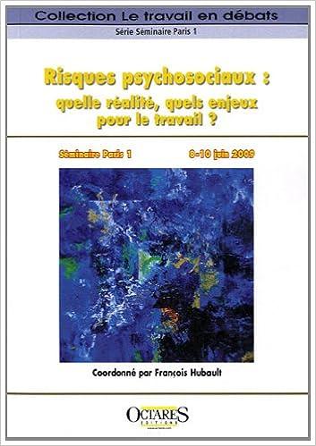 Livres gratuits Risques psychosociaux : quelle réalité, quels enjeux pour le travail ? epub pdf