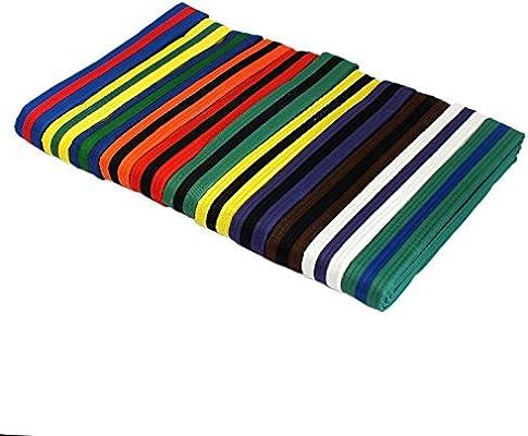 """Blue New Taekwondo Karate Martial Arts 1.5/"""" Wide Belts Double Wrap Belts"""