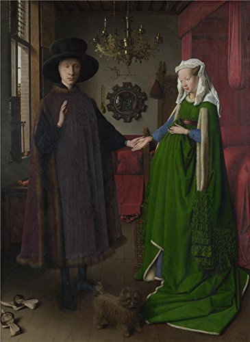 [Oil Painting 'The Arnolfini Portrait Jan Van Eyck', 8 x 11 inch / 20 x 28 cm , on High Definition HD canvas prints is for Gifts And Bar, Foyer And Nursery Decoration,] (Redneck Costume Ideas)