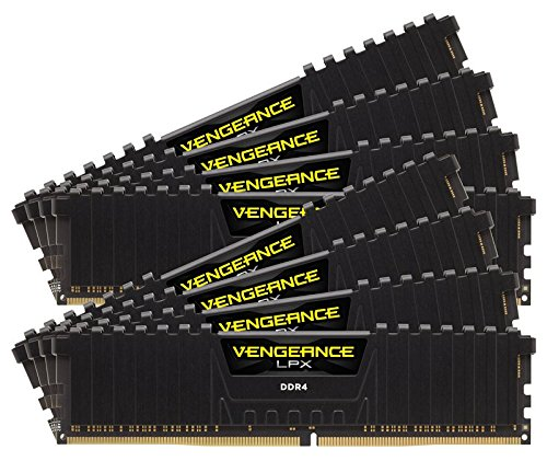 Corsair Vengeance LPX 128GB DDR4 DRAM 3000MHz C16 Memory Kit by Corsair