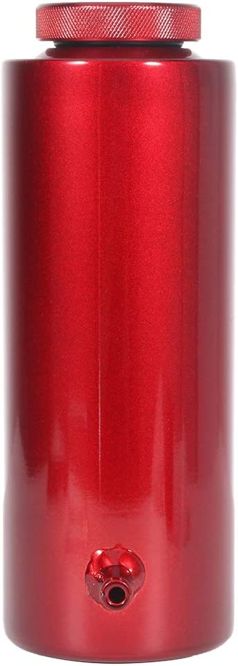 Ineedup 800ml Radiator Coolant Overflow Tank Universal Aluminum Red