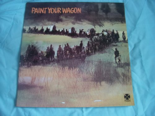 LEE MARVIN/CLINT EASTWOOD Paint Your Wagon UK LP 1969 [Vinyl] (Lee Marvin Clint Eastwood Paint Your Wagon)