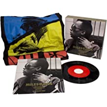 """Miles Davis-Limited Edition-Collectors Box-Includes 7"""" Vinyl 45 RPM Single (In Picture Sleeve) of Runs The VooDoo Down/In A Silent Way-PLUS a Miles Davis T-Shirt (Size XL)"""