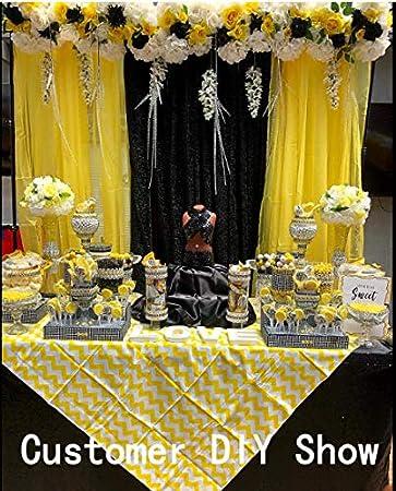 KAOYOO 10 Yards New Flower Shaped with Rhinestone Chain Sew On Trims Wedding Dress Beaded Trim