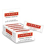 LARABAR, Fruit & Nut Bar, Coconut Cream Pie, Gluten Free, Vegan, Whole 30 Compliant, 1.7 oz Bars (16 Count)